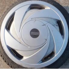 R15 Dekoratīvās metāla disku uzlikas